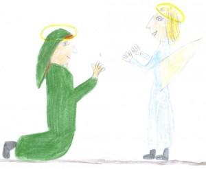 Gabriel bei Maria